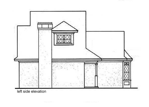 Bungalow, Mediterranean House Plan 65641 with 2 Beds, 2 Baths Picture 1