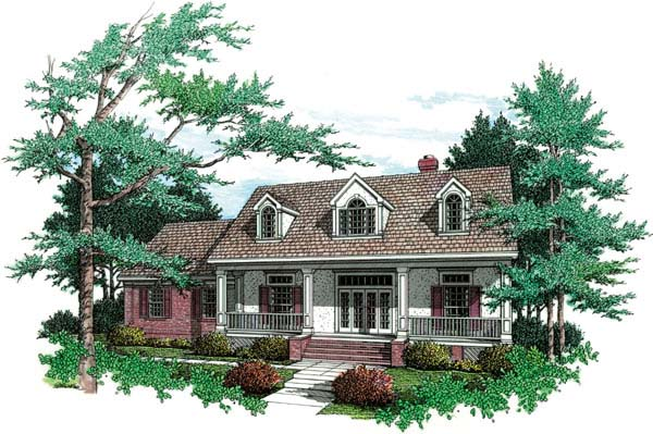 Country Southern House Plan 65647 Elevation