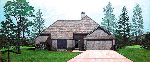 Traditional House Plan 65737 Elevation