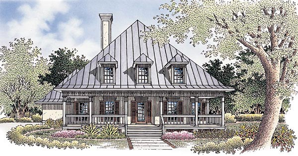 CapeCod House Plan 65772