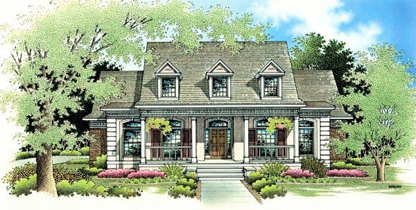 Country House Plan 65779 Elevation
