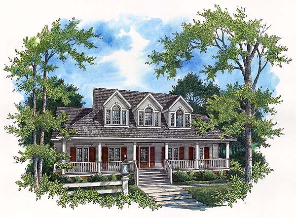 Country House Plan 65790 Elevation