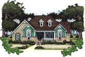 Plan Number 65802 - 1715 Square Feet