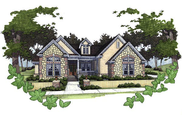 Cottage Traditional House Plan 65806 Elevation