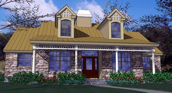 Country House Plan 65814