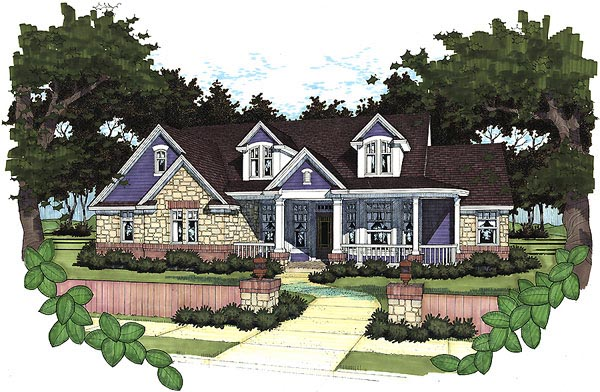 Cape Cod House Plan 65821 Elevation