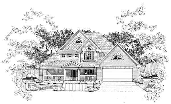 Traditional House Plan 65829 Elevation
