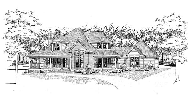 Traditional House Plan 65830 Elevation