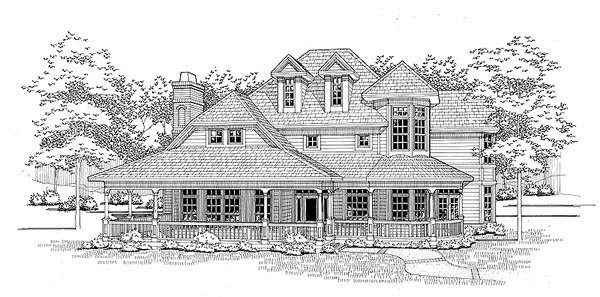 Victorian House Plan 65839 Elevation