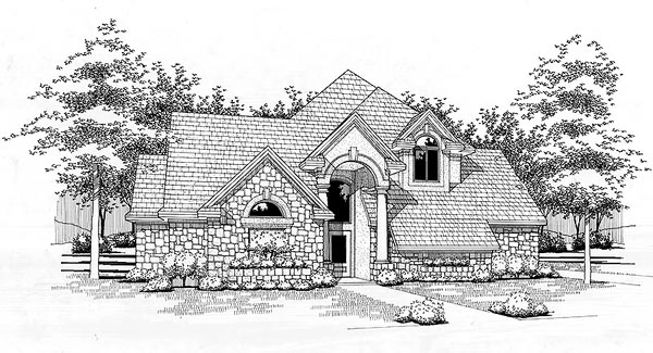Traditional House Plan 65850 Elevation