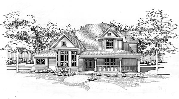 Country House Plan 65853 Elevation
