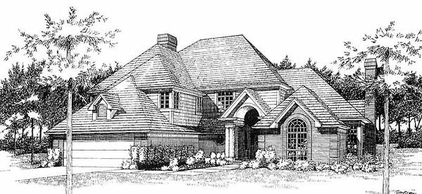 Traditional House Plan 65859 Elevation