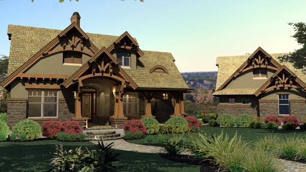 Cottage Home Plans With Loft