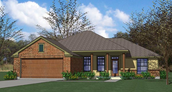 Traditional House Plan 65889