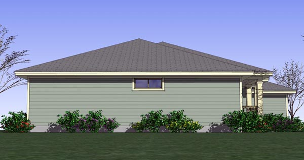 Cottage, Country, Traditional House Plan 65890 with 3 Beds, 2 Baths, 2 Car Garage Picture 1