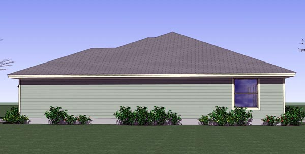 Cottage, Country, Traditional House Plan 65890 with 3 Beds, 2 Baths, 2 Car Garage Picture 2