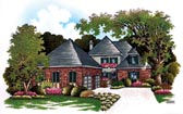 Plan Number 65901 - 2962 Square Feet