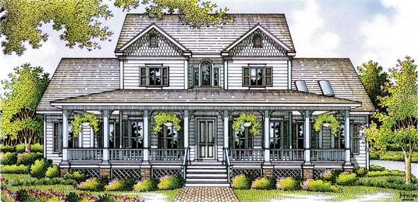 Farmhouse House Plan 65906 Elevation