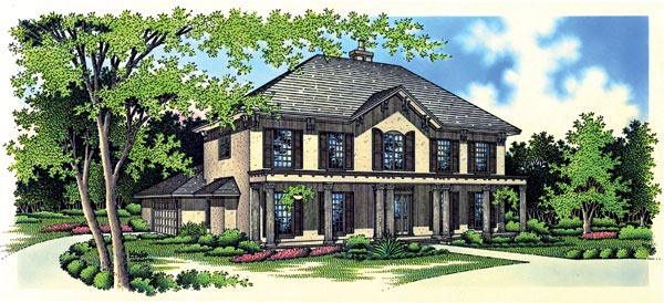 Country House Plan 65909 Elevation