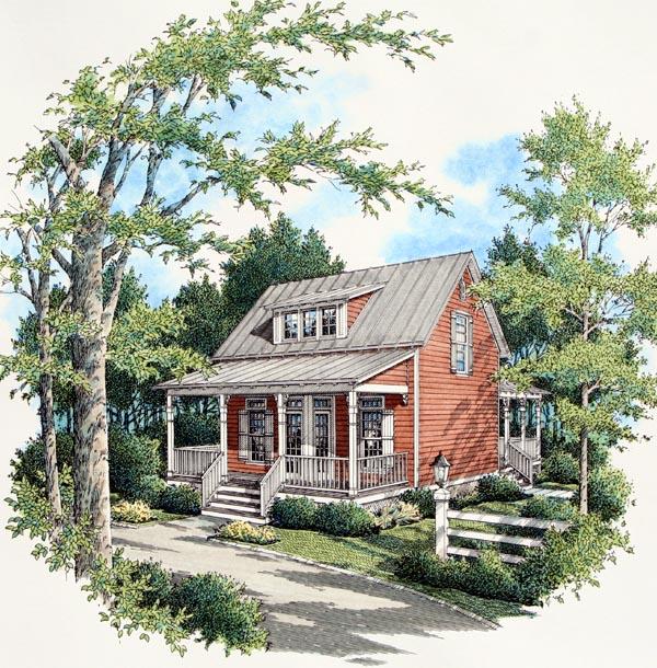 NarrowLot House Plan 65919