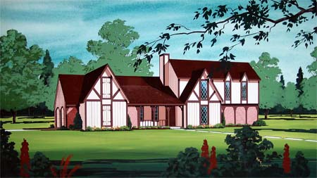House Plan 65939 Elevation