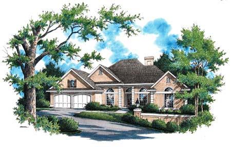 House Plan 65941 Elevation