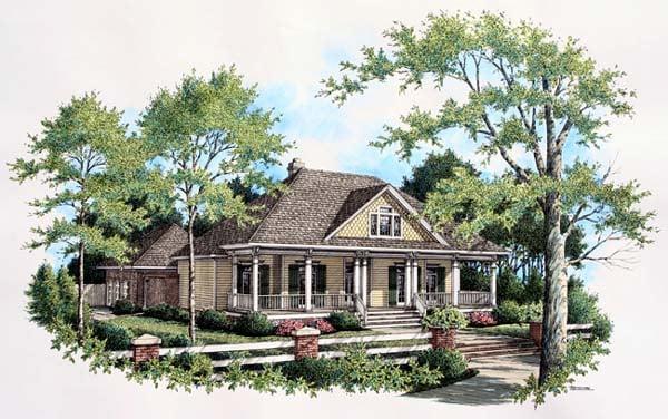 House Plan 65943 Elevation