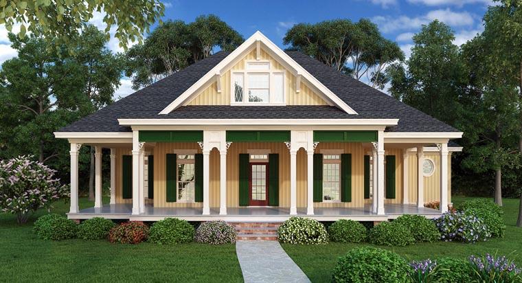 Southern House Plan 65973
