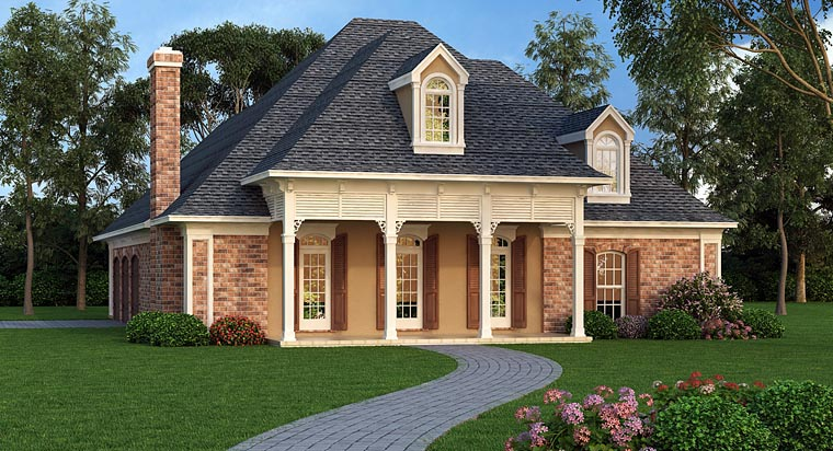 House Plan 65975 at FamilyHomePlanscom
