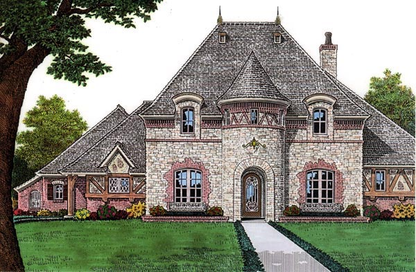 French Country House Plan 66059 Elevation