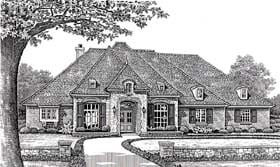 Plan Number 66077 - 2605 Square Feet