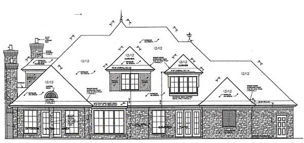 Marvellous French Country European House Plans Pictures - Best ...
