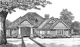 Plan Number 66112 - 2740 Square Feet