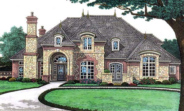 House Plan 66117 at FamilyHomePlans.com