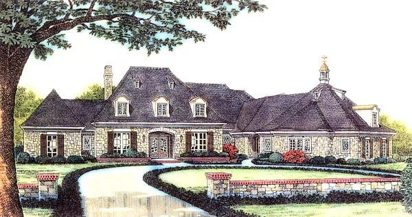Victorian House Plan 66178 Elevation