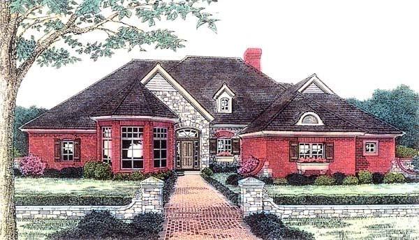 Victorian House Plan 66179 Elevation