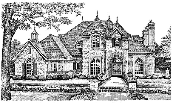 French Country Victorian House Plan 66193 Elevation