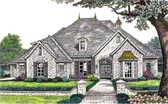 Plan Number 66201 - 3007 Square Feet