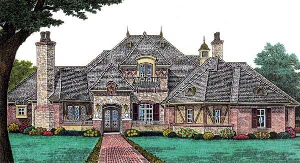 French Country European House Plans - Home Design 2017