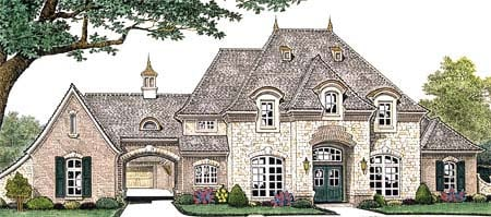 House plan 66235 at for Italian country home plans