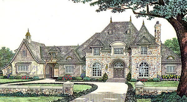 Country French Country House Plan 66236 Elevation