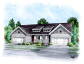 Plan Number 66401 - 4090 Square Feet