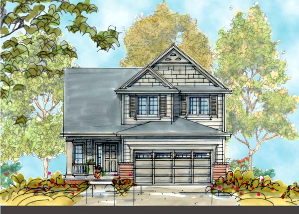 Country House Plan 66412 Elevation