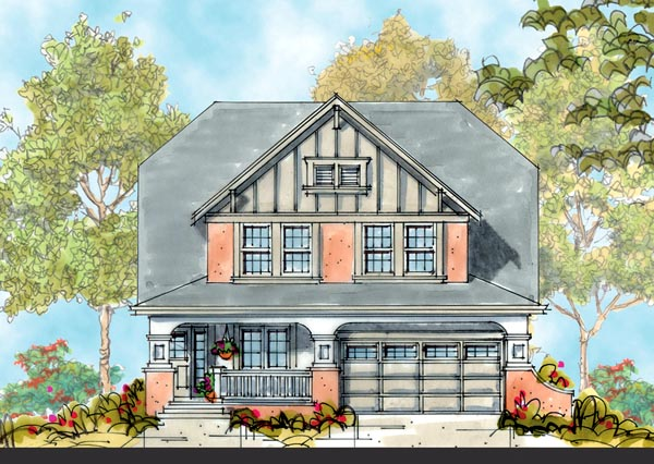 Craftsman House Plan 66418 Elevation