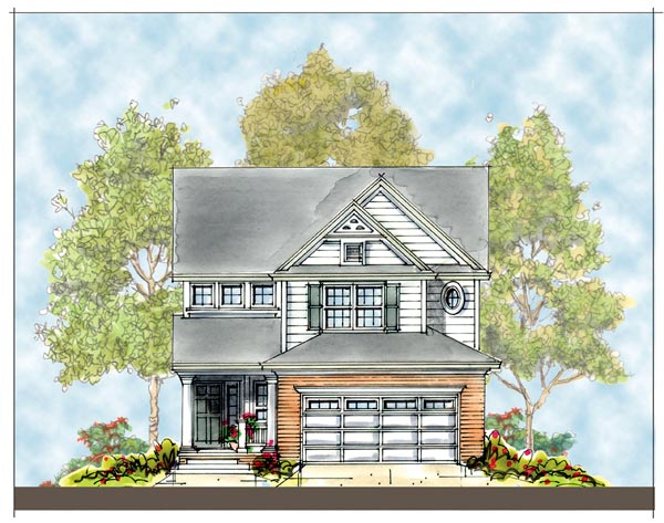 Traditional House Plan 66421 Elevation