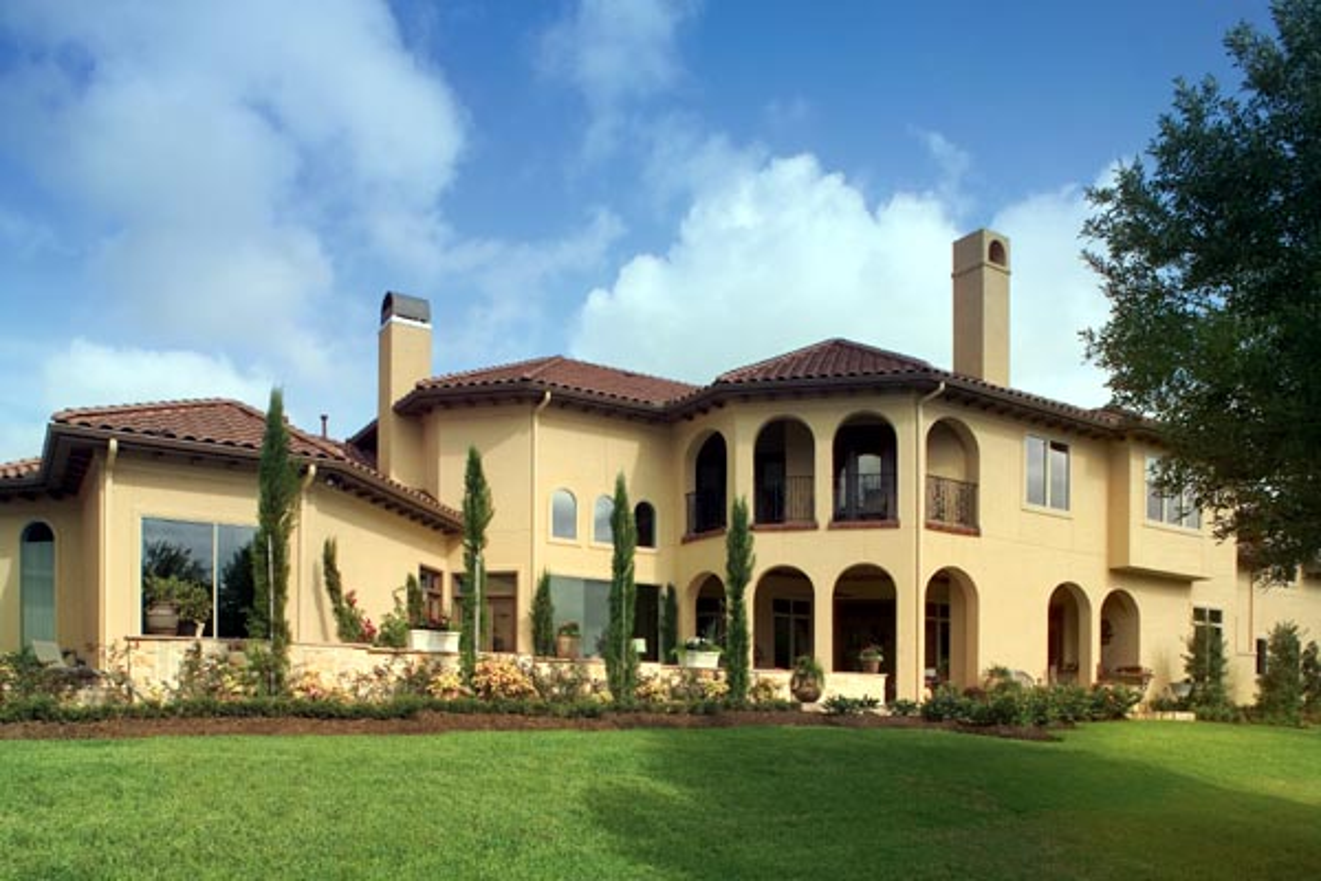 Mediterranean House Plan 66444 Rear Elevation