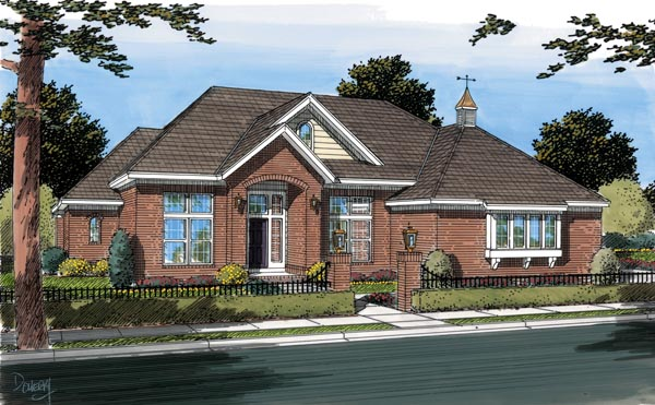 Traditional House Plan 66454