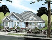 Plan Number 66472 - 1481 Square Feet