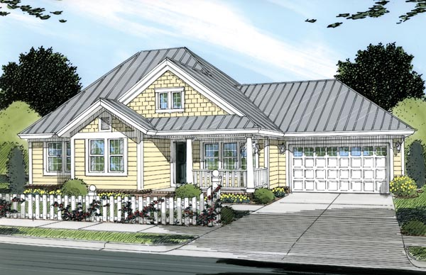 Traditional House Plan 66475 Elevation