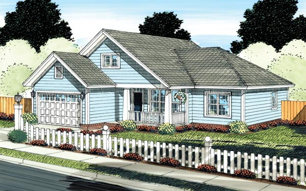 Traditional House Plan 66530 Elevation